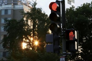 Running a Red Light Accident