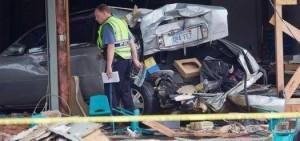 SUV Crashes Into Day Care