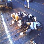 Unavoidable Exposure in a Motorcycle Accident