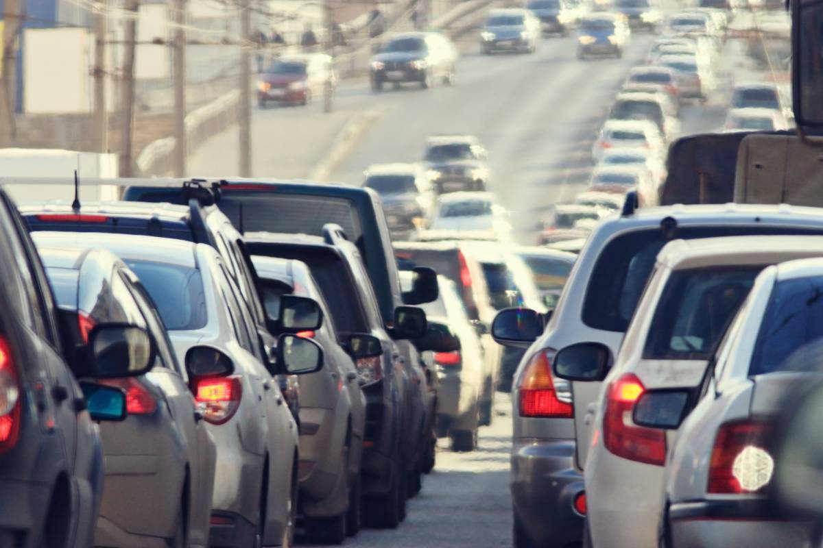 St. Louis traffic jam