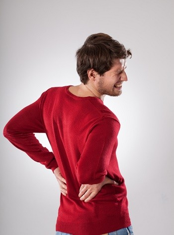 Be careful to not ignore symptoms of back injury after a car accident.
