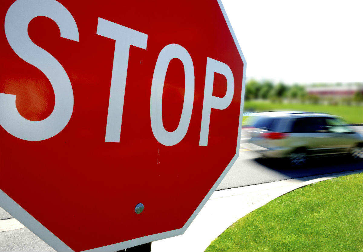 Not Recognizing A 2 Way Stop Sign Intersection Car Accident Lawyer