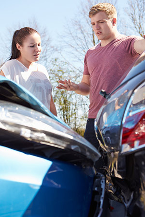 under insured car accident st louis