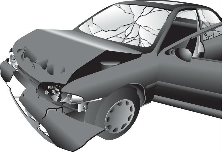 auto accident damage