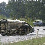 When a Negligent Driver Crosses the Center Line