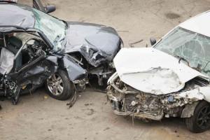 crush injuries head on collision
