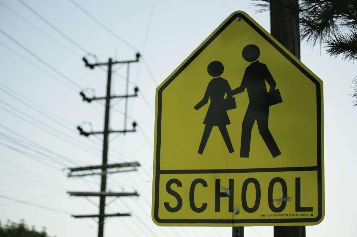 distracted driving school zones