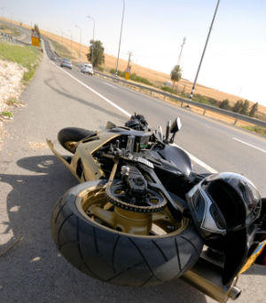 motorcycle accident fault
