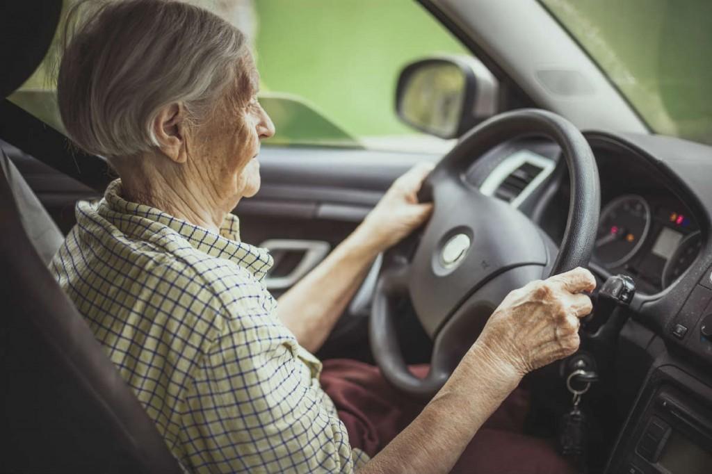 elderly car accident