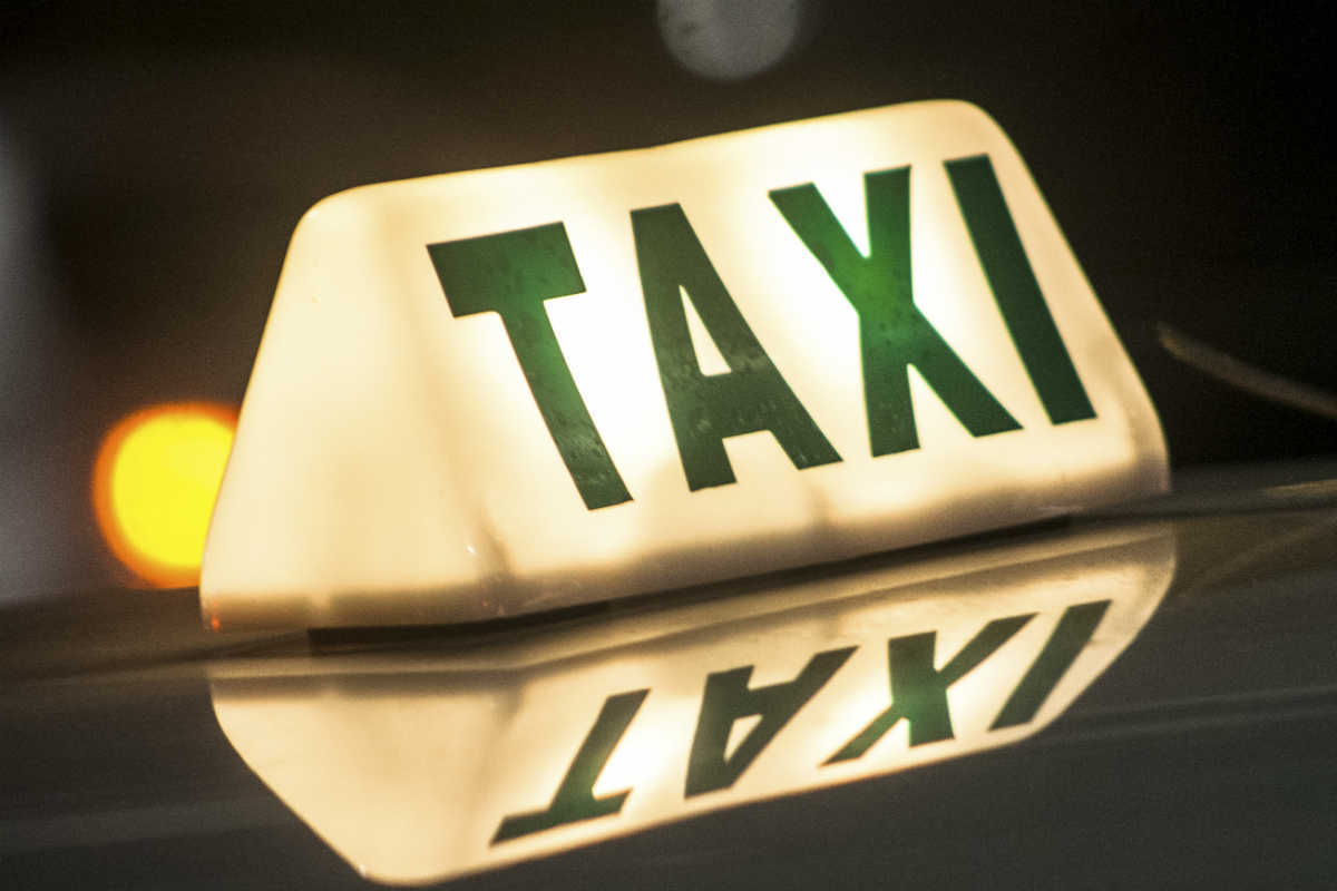 taxi cab wreck attorney