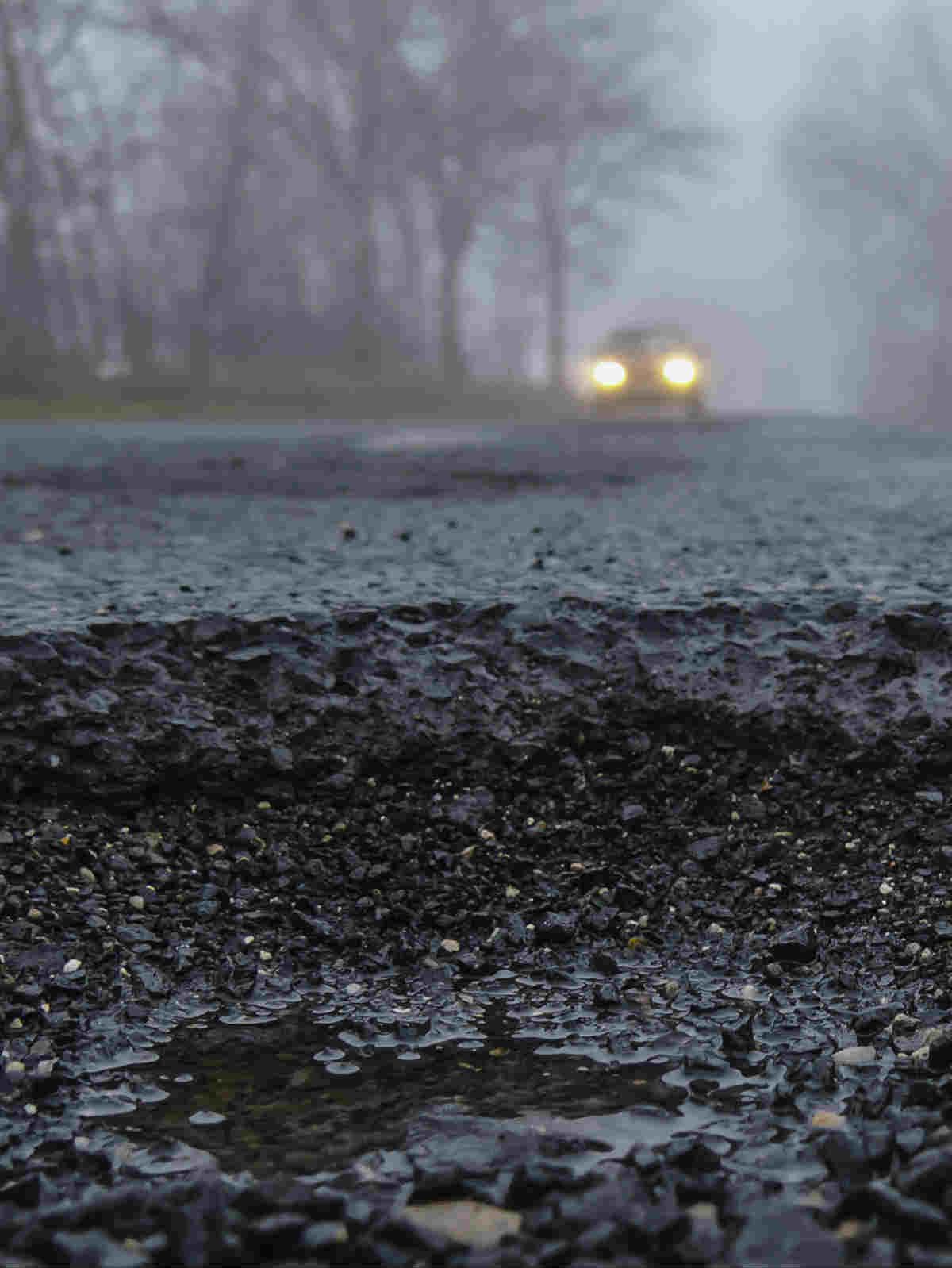 st louis auto accident potholes