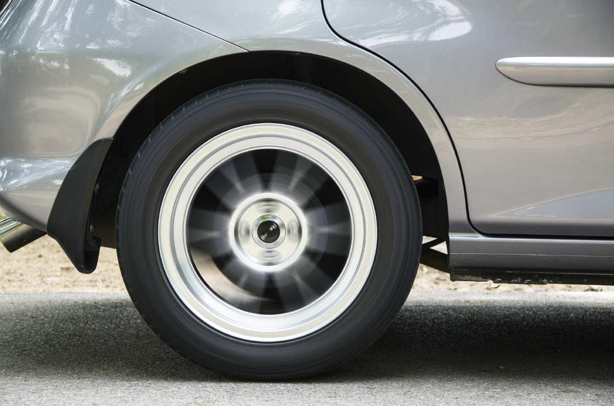 Car Tire Blowout Accident