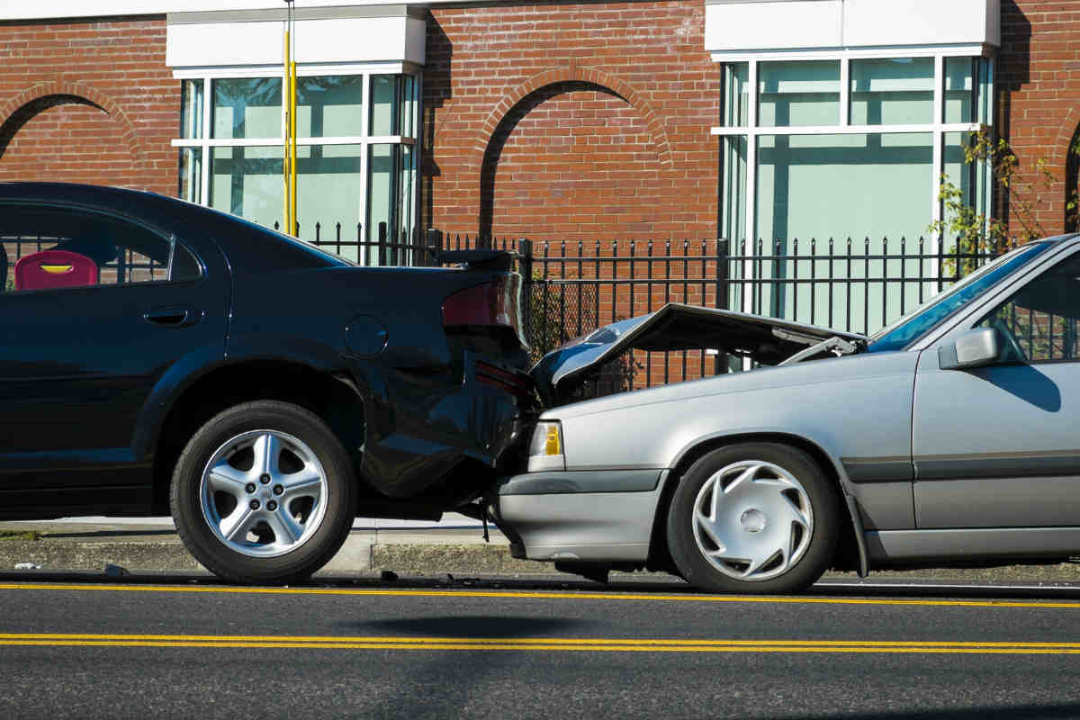 Rear end collision every 8 seconds automobile wreck for There are usually collisions in a motor vehicle crash