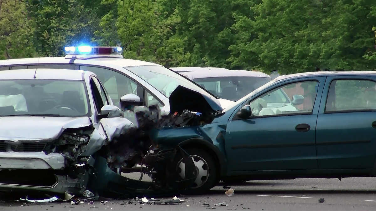 t-bone collision in St. Louis