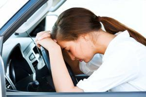 tired St. Louis teen driver