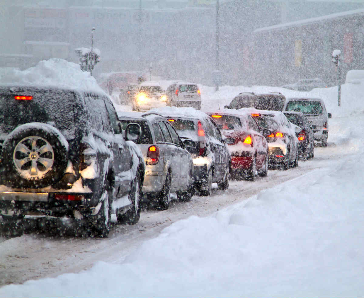 st louis auto crash winter driving