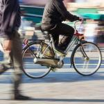 Bicyclists are 17 times more at risk of losing their life in a traffic accident!