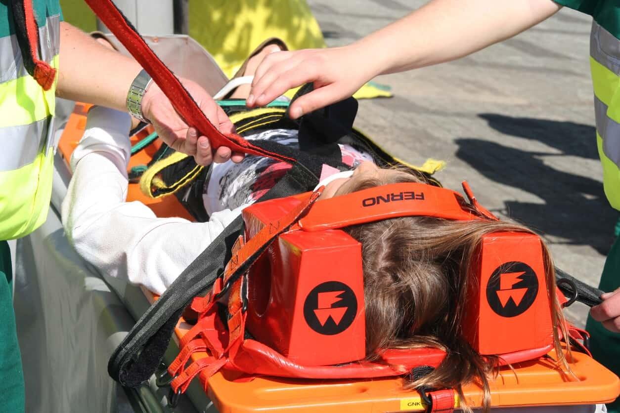 Child Concussion Car Accident