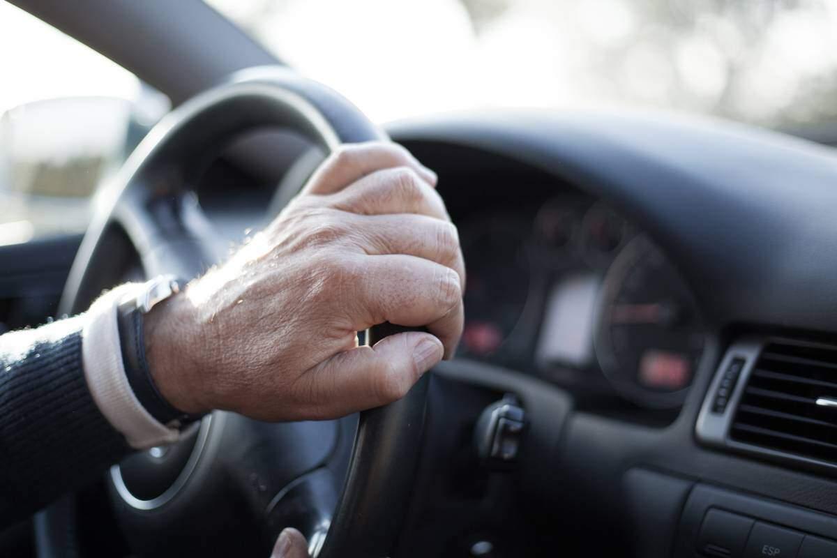 Elderly driver accident