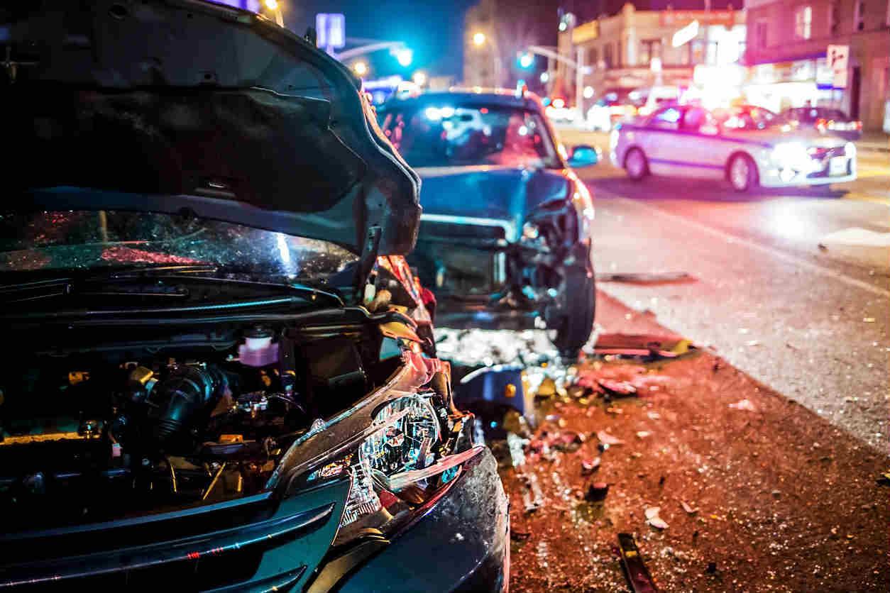 St. Louis car accident downtown
