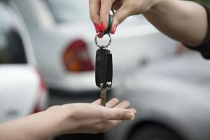 test drive car keys