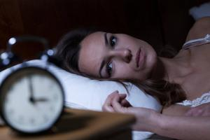 St. Louis woman awake at night