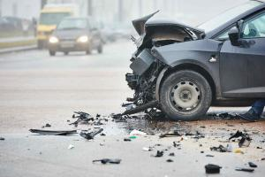 St. Louis Missouri car accident scene