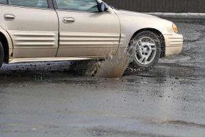 Pothole Damage Claim