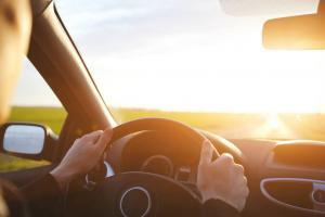 sun glare car accident