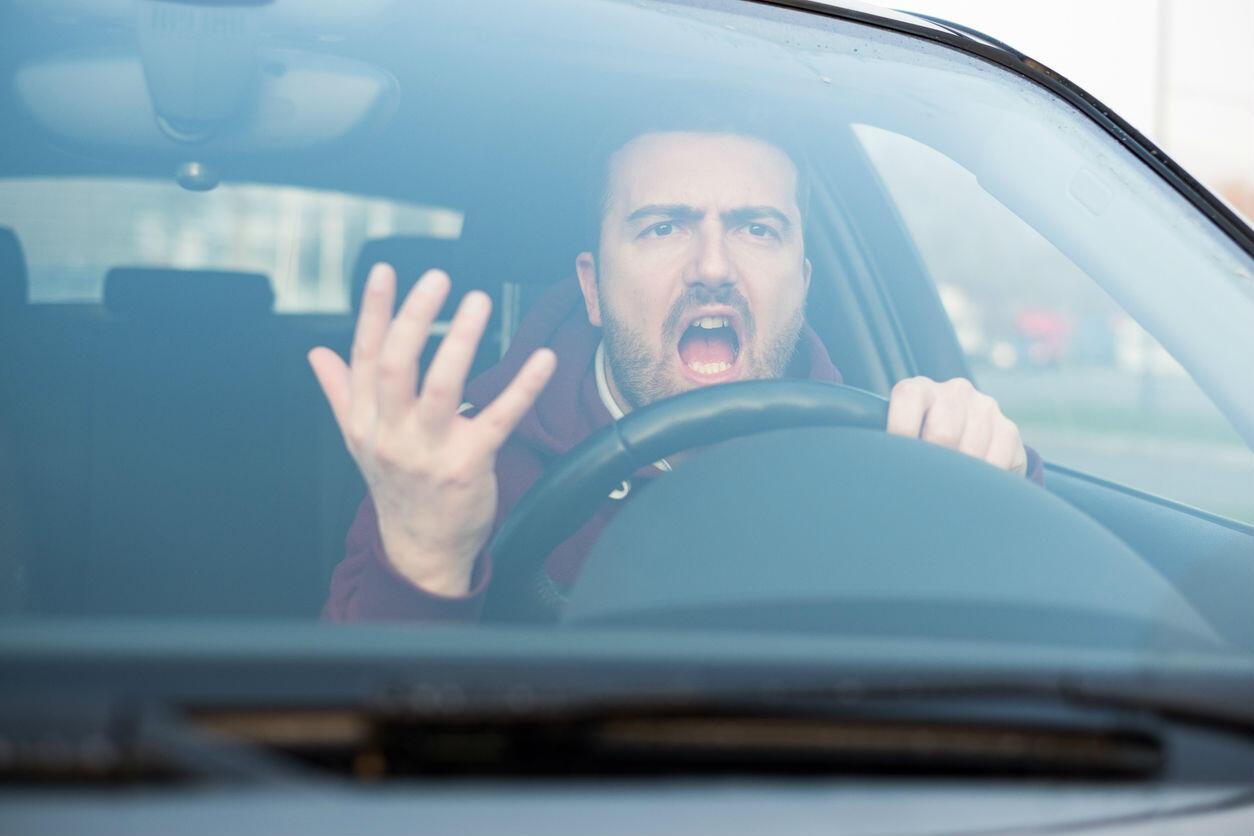 St. Louis aggressive driver