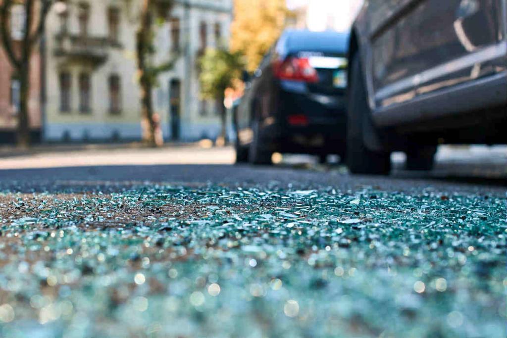 car accident involving a self-driving car