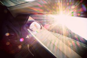 sun glare car accident