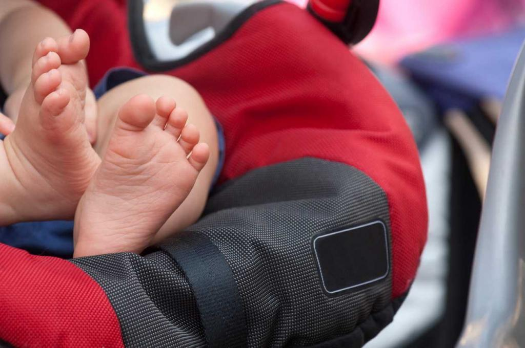 child injuries in a car accident