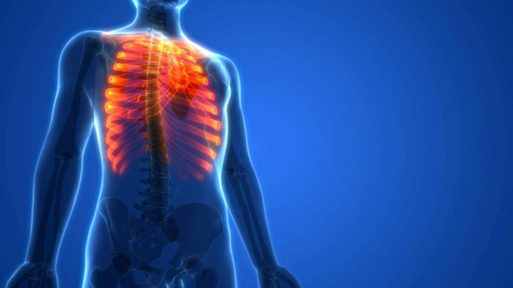 broken ribs car accident settlement