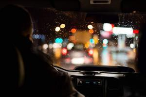 st. louis man driving at night