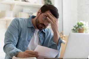 st. louis man stressed over bills