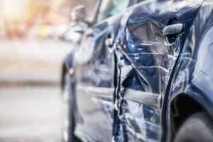 car involved in accident with a government vehicle in st. louis