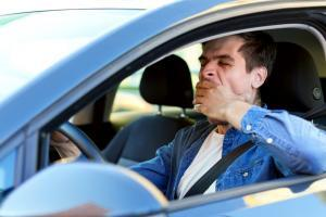st. louis man tired while driving