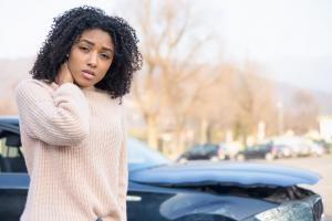 st. louis woman in lyft car accident