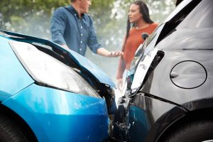 Determing Fault in Car accident stl