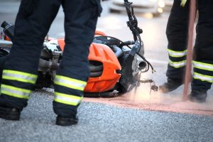 serious motorcycle accident in St. Louis